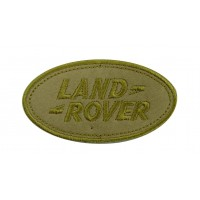 Patch écusson brodé 9x5 Land Rover