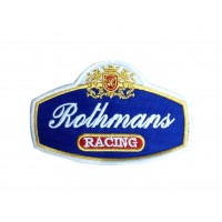 1663 Patch emblema bordado 10x6 ROTHMANS