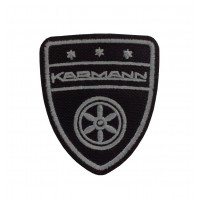 1664 Embroidered sew on patch 7x6 VW KARMANN
