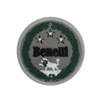 1672 Embroidered sew on patch 7x7 BENELLI