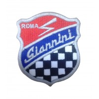 1673 Embroidered sew on patch 7x5  GIANNINI AUTOMOBILI S.P.A. ROMA