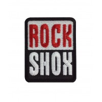 1679 Embroidered patch 8x6 ROCK SHOX