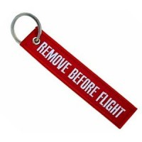 1691 KEYRING REMOVE BEFORE FLIGHT