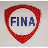 Patch écusson brodé 8x8 FINA