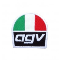 1702 Patch emblema bordado 7x7 AGV