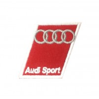0705 Embroidered sew on patch 6x5 AUDI SPORT