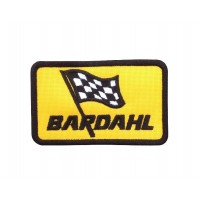 1706 Patch emblema bordado 9x5 BARDAHL