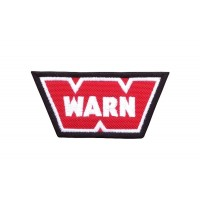 0151 Patch emblema bordado 9x5 WARN