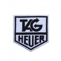 1710 Patch emblema bordado 8x8 TAG HEUER