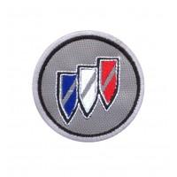 1713 Patch emblema bordado 6X6 BUICK