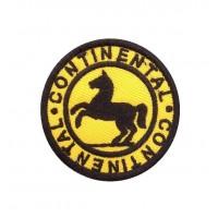 1716 Parche emblema bordado 6X6 CONTINENTAL