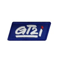 1723 Embroidered sew on patch 7X3 GT2i