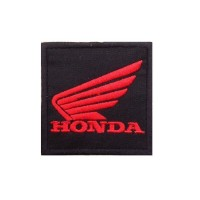 1725 Embroidered patch 7x7 HONDA