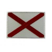 Patch écusson brodé 7X5 drapeau croix anglaise