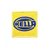 0113 Embroidered patch 7x7 HELLA