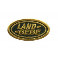 1736 Embroidered patch 6X3 LAND ROVER BEBE