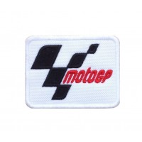 1740 Patch emblema bordado 8x6 MOTO GP FIM