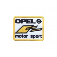 1743 Patch emblema bordado 8x6 OPEL MOTOR SPORT