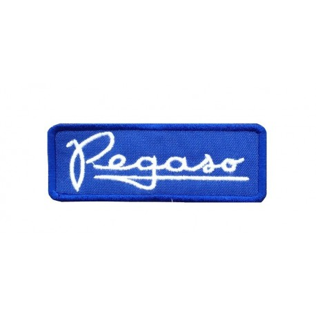 1747 Embroidered patch 9X3 PEGASO
