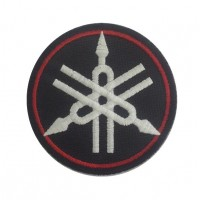 0453 Embroidered patch 7x7 YAMAHA