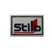 1750 Embroidered patch 6x4 STILO