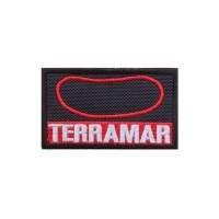 1751 Embroidered patch 7x4 CIRCUIT TERRAMAR SITGES BARCELONE SPAIN