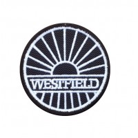 1759 Embroidered patch 7x7 WESTFIELD SPORTSCARS