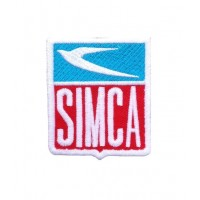1765 Embroidered patch 7X6 SIMCA