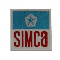 1766 Embroidered patch 7X6 SIMCA CHRYSLER
