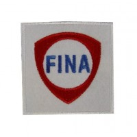 Embroidered patch 7x7 FINA