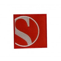 Patch emblema bordado 7x7 SAUBER