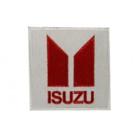0259 Embroidered patch 7x7 ISUZU