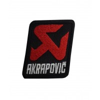 1825 Embroidered patch 6X6 AKRAPOVIC