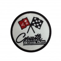 1838 Embroidered patch 7x7 CHEVROLET CORVETTE STING RAY