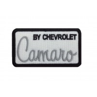 1840 Embroidered patch sew on 8X4 CAMARO BY CHEVROLET