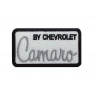 1840 Patch emblema bordado 8x4 CAMARO BY CHEVROLET