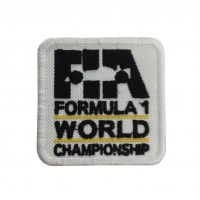 1847 Embroidered sew on patch 6X6 FIA F1 FORMULA 1 WORLD CHAMPIONSHIP