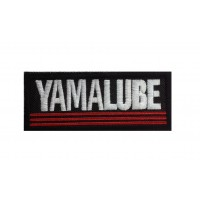 1853 Embroidered patch 10x4 YAMALUBE YAMAHA