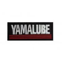 1853 Patch emblema bordado 10x4 YAMALUBE YAMAHA