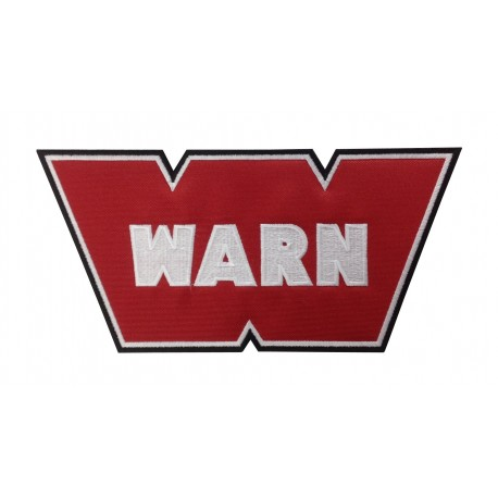 0152 Embroidered patch 26x14 WARN