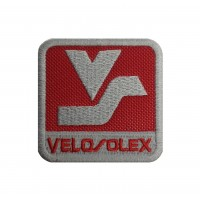1856 Patch emblema bordado 6X6 SOLEX VELOSOLEX