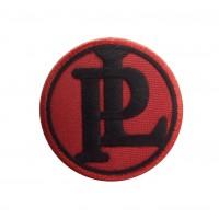 1862 Patch emblema bordado 7x7 PANHARD LEVASSOR PL
