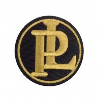 1863 Embroidered patch 7x7 PANHARD LEVASSOR PL