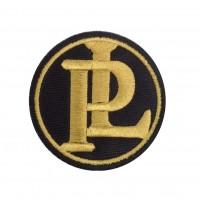 1863 Patch emblema bordado 7x7 PANHARD LEVASSOR PL