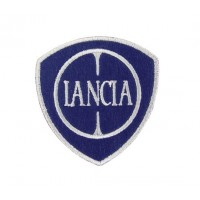 Embroidered patch 7x7 LANCIA 2007