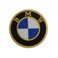 1917 Embroidered sew on patch 7x7 BMW 1916-1923 LOGO