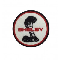 1920 Embroidered sew on patch 7x7 FORD SHELBY AC COBRA MUSTANG