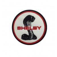 1920 Patch emblema bordado 7x7 FORD SHELBY COBRA AC MUSTANG
