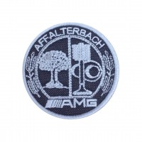 1523 Embroidered patch 7x7 AMG AFFALTERBACH