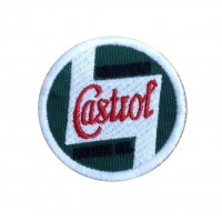 1923 Embroidered sew on patch 5X5 CASTROL WAKEFIELD MOTOR OIL